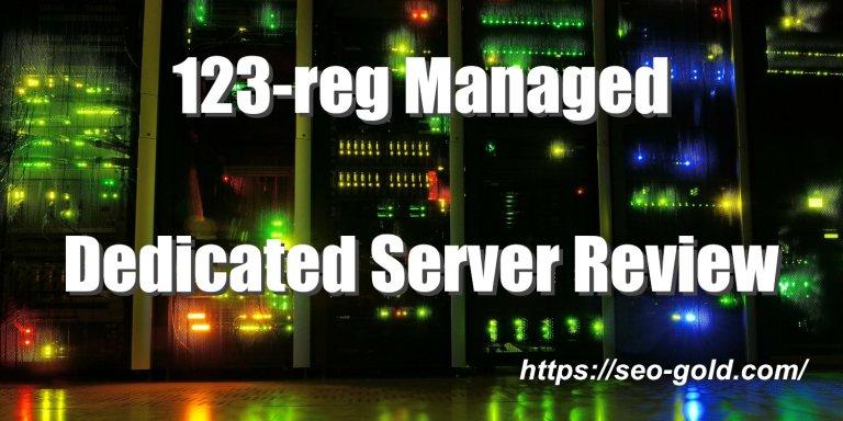 123-reg Managed Dedicated Server Review