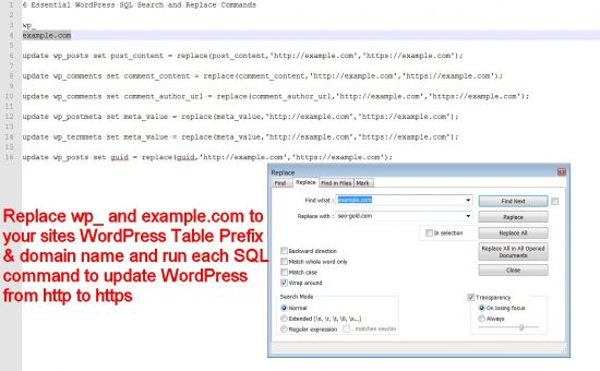 6 Essential WordPress SQL Search and Replace Commands