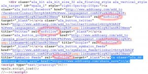 Black Hat SEO Add to Any Hidden Link