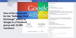 AdSense Click Exchange Facebook Group