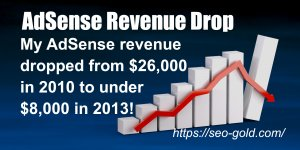 AdSense Revenue Drop