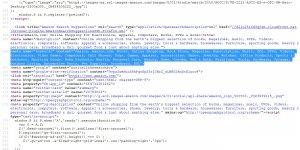 Amazon Keywords Meta Tag