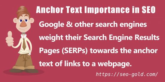 Anchor Text Importance in SEO
