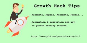 Automation And Repetition Are Key To Growth Hacking Success