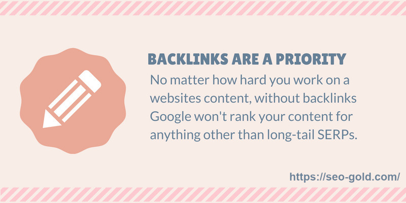 Backlinks Are a Priority SEO Tip