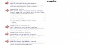 British Gas Boiler Cover Customer Value
