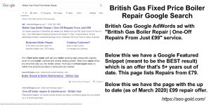 British Gas Fixed Price Boiler Repair Google Search