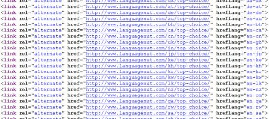 Languagenut Hreflang Tags Broken Alternate URLs