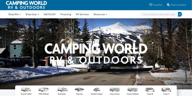 Camping World RV Sales Review