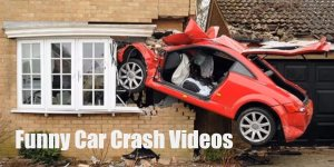 Funny Car Crash