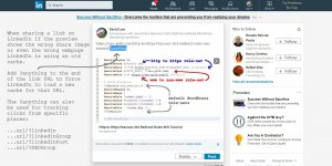Clearing LinkedIn Link Sharing Preview Cache