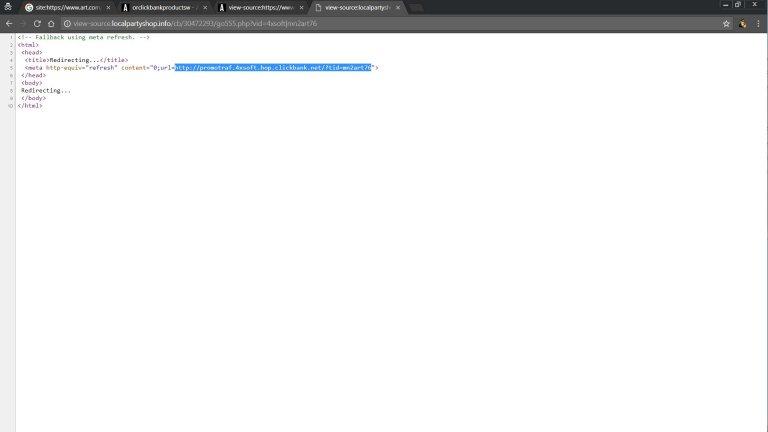 Clickbank Affiliate Hop Link View Source