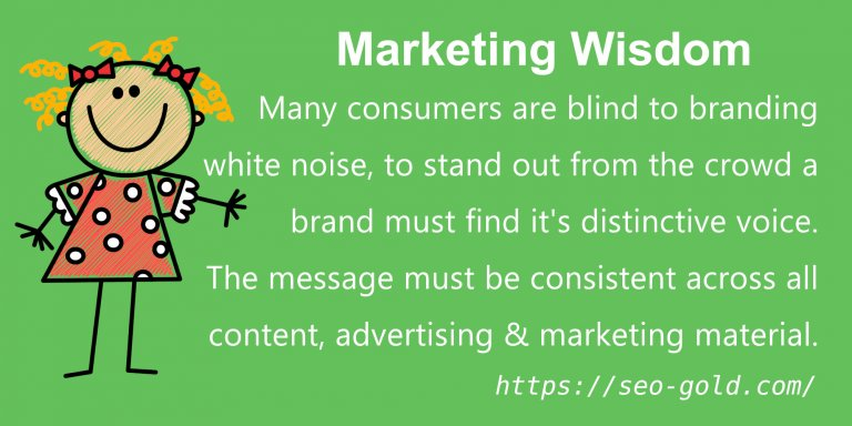 Consumers are Blind to Branding White Noise