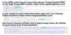 Craig Campbell SEO Hidden Text Link