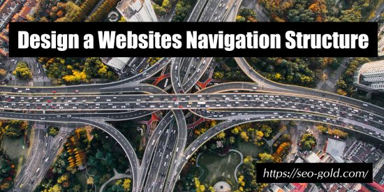 Design a Websites Navigation Structure