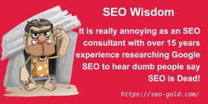 Dumb People Say SEO is Dead!