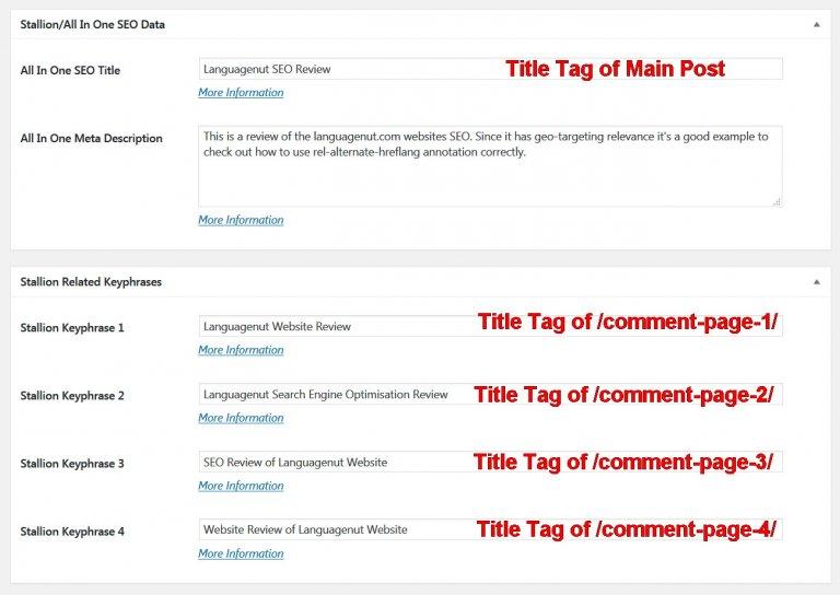 Duplicate Title Tags Keyword Cannibalization SEO Fix