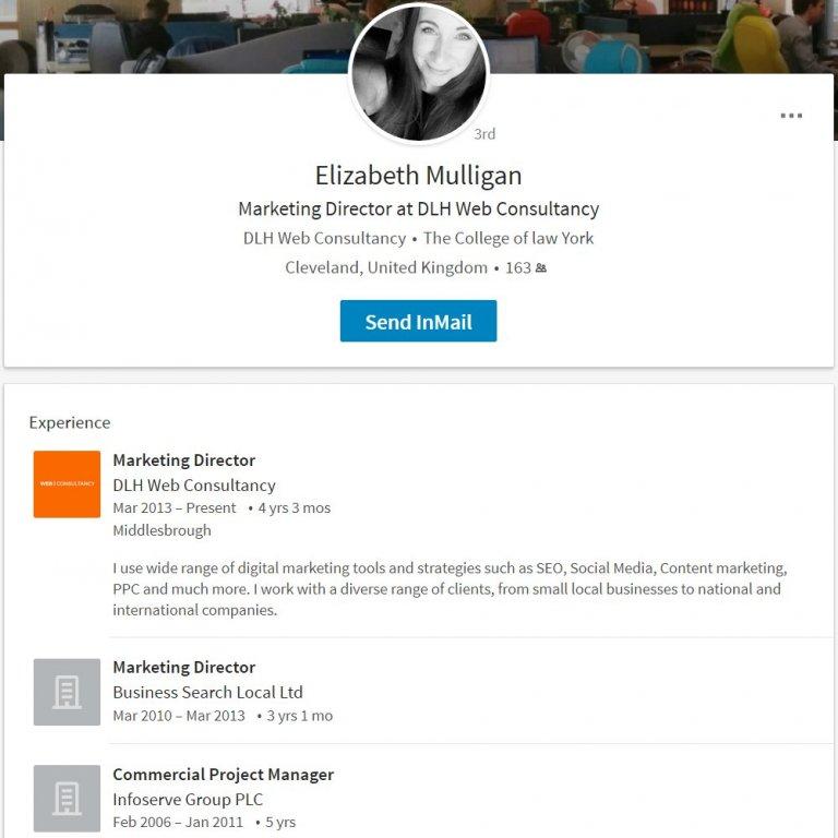 Elizabeth Mulligan Marketing Director at DLH Web Consultancy