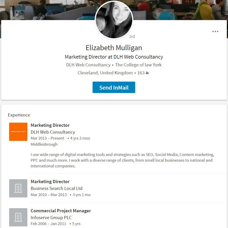 Elizabeth Mulligan Marketing Director at DLH Web Consultancy