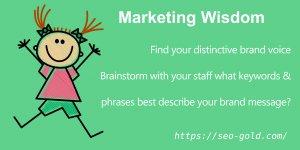Find your Distinctive Brand Voice