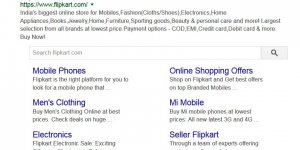 Flipkart Keyword Stuffed Meta Description Tag