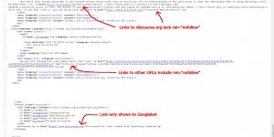 Links Added To Threads by Trusted Discourse Forum Members are NOT Nofollow