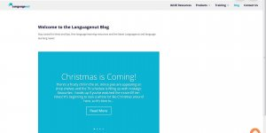 Free Printable Christmas Language Resources