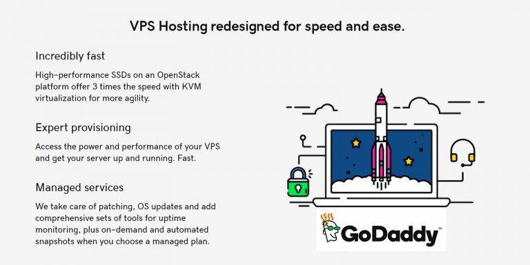 GoDaddy VPS Hosting