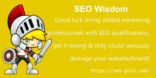 Good Luck Hiring Skilled Marketing Professionals with SEO Qualifications
