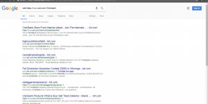 Google Search of Art.com for the Word Clickbank
