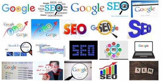 Google SEO Logos