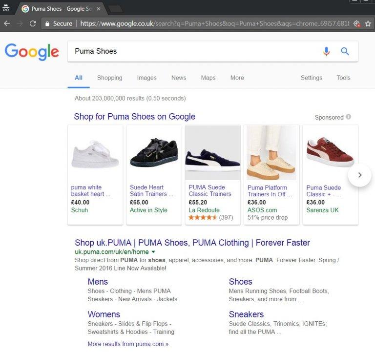 Google Shopping Sponsored Ads