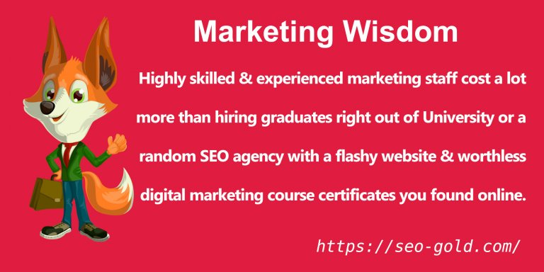 Hiring Highly Skilled & Experienced Marketing Staff