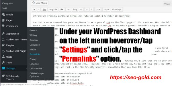 How to Change Permalinks in WordPress