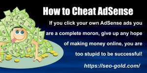 How to Cheat AdSense