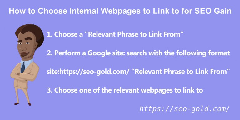 How to Choose Internal Webpages to Link to for SEO Gain