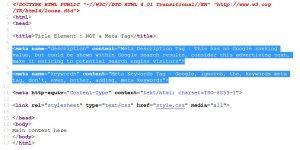 HTML Meta Tags