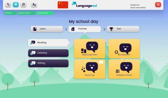 Languagenut Mandarin Language Practice Games