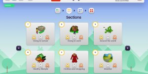 Languagenut Mandarin Language Course Sections