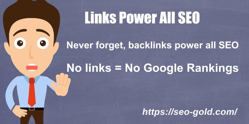 Links Power All SEO
