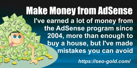 Make Money from AdSense