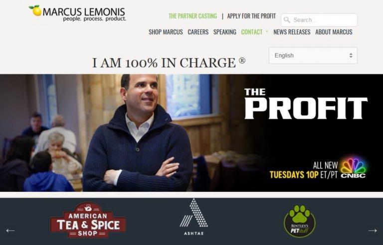 Marcus Lemonis Website Review