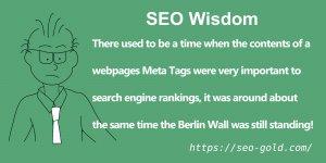 Meta Tags SEO Value