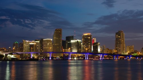Miami Cityscape Photo