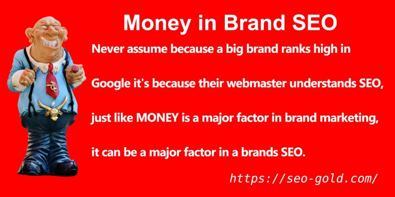 Money in Brand SEO