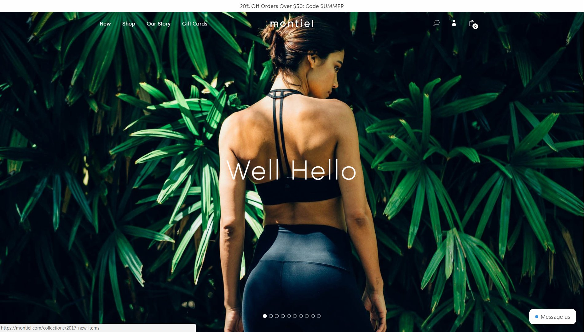 0b55b56c0cce4 Montiel Activewear Website SEO Review