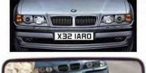 Funny ORAL SEX Number Plate