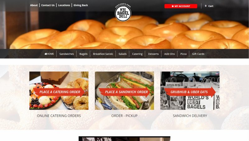 NYC Bagel Deli Review