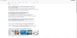 Obscure Google Exact Match Search for an Internal Links Anchor Text SEO Test