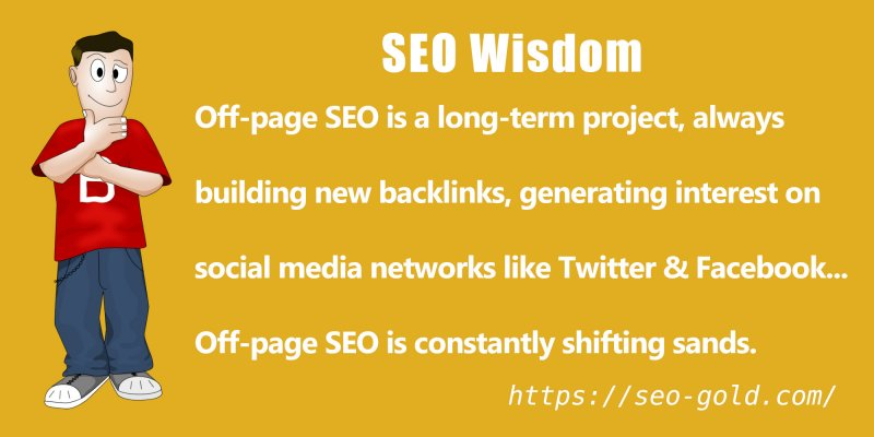 Off-Page SEO is a Long-Term Project
